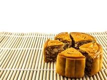 Τρόφιμα φεστιβάλ κέικ φεγγαριών φθινοπώρου Στοκ Εικόνες