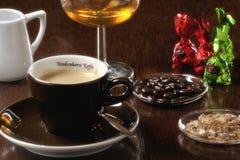 Τρόφιμα: φλιτζάνι του καφέ Στοκ Φωτογραφία