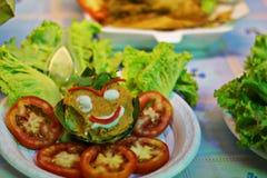 Τρόφιμα χαμόγελου Στοκ εικόνα με δικαίωμα ελεύθερης χρήσης