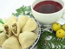 τρόφιμα Χριστουγέννων στοκ φωτογραφίες