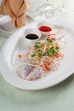 τρόφιμα ψαριών Στοκ Εικόνες