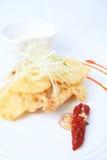 Τρόφιμα beignettes μανιταριών στρειδιών Στοκ εικόνα με δικαίωμα ελεύθερης χρήσης