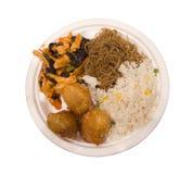 Τρόφιμα Chineese, κοτόπουλο με το σουσάμι Στοκ Εικόνες