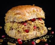 Τρόφιμα Dabeli οδών Gujarati Στοκ φωτογραφίες με δικαίωμα ελεύθερης χρήσης