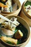 τρόφιμα dimsum της Ασίας Στοκ Εικόνα