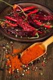 Τρόφιμα ingridients: πιπέρια ανάμεικτα Στοκ εικόνες με δικαίωμα ελεύθερης χρήσης