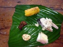 Τρόφιμα Kichwa στοκ φωτογραφίες