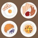 Τρόφιμα set1 Διανυσματική απεικόνιση