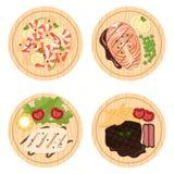 Τρόφιμα set2 Απεικόνιση αποθεμάτων