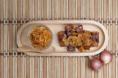 Τρόφιμα Vegan, γλυκιά κατασκευασμένη φυτική πρωτεΐνη Στοκ εικόνα με δικαίωμα ελεύθερης χρήσης