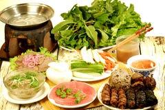 τρόφιμα vietnames Στοκ Εικόνα