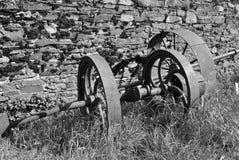 τρύγος αγροτικών μηχανημάτ&o Στοκ εικόνα με δικαίωμα ελεύθερης χρήσης