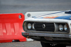 τρύγος αγώνα αυτοκινήτων Στοκ Εικόνες