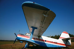 τρύγος αεροπλάνων Στοκ εικόνα με δικαίωμα ελεύθερης χρήσης