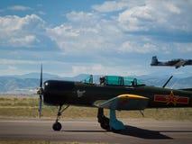 τρύγος αεροσκαφών Στοκ εικόνα με δικαίωμα ελεύθερης χρήσης