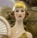 Τρύγος - αναδρομική κούκλα Στοκ φωτογραφία με δικαίωμα ελεύθερης χρήσης