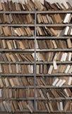 τρύγος αρχείων εγγράφων Στοκ φωτογραφίες με δικαίωμα ελεύθερης χρήσης