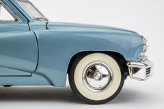 Τρύγος αυτοκινήτων που απομονώνεται στο λευκό Στοκ εικόνες με δικαίωμα ελεύθερης χρήσης