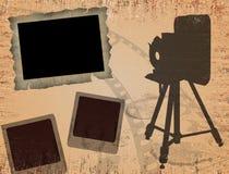 τρύγος αφισών φωτογραφία&sigm Στοκ φωτογραφίες με δικαίωμα ελεύθερης χρήσης