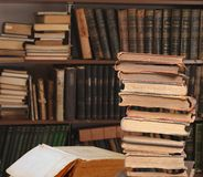 τρύγος βιβλίων Στοκ Εικόνα