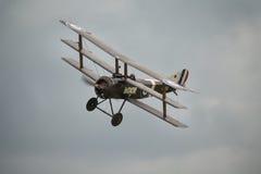 Τρύγος 1916 βρετανικό Sopwith Triplane Στοκ Εικόνες