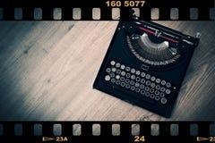 τρύγος γραφομηχανών Στοκ εικόνες με δικαίωμα ελεύθερης χρήσης