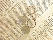 τρύγος γυαλιών Στοκ εικόνα με δικαίωμα ελεύθερης χρήσης