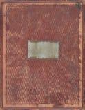 τρύγος δέρματος κάλυψης βιβλίων Στοκ φωτογραφία με δικαίωμα ελεύθερης χρήσης