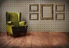 τρύγος δωματίων Στοκ εικόνες με δικαίωμα ελεύθερης χρήσης
