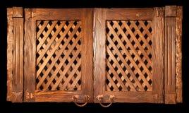 τρύγος επίπλων ξύλινος Στοκ εικόνα με δικαίωμα ελεύθερης χρήσης