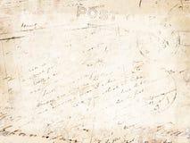 τρύγος επιστολών ανασκόπ&et στοκ φωτογραφία