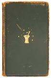 τρύγος κάλυψης βιβλίων α&lam Στοκ Εικόνες