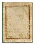 τρύγος κάλυψης βιβλίων Στοκ Εικόνες