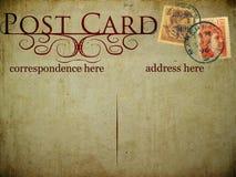 τρύγος καρτών Στοκ φωτογραφίες με δικαίωμα ελεύθερης χρήσης