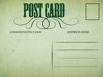 τρύγος καρτών Στοκ Εικόνα