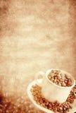 τρύγος καφέ ανασκόπησης Στοκ φωτογραφία με δικαίωμα ελεύθερης χρήσης