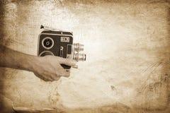 τρύγος κινηματογραφίας Στοκ φωτογραφία με δικαίωμα ελεύθερης χρήσης