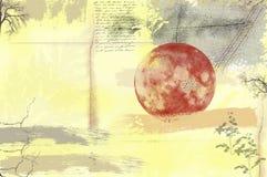 τρύγος κολάζ Στοκ εικόνα με δικαίωμα ελεύθερης χρήσης