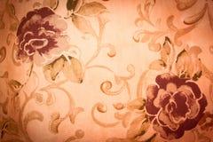 τρύγος λουλουδιών ανασκόπησης Στοκ Φωτογραφία