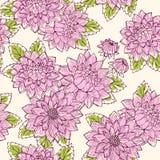 τρύγος λουλουδιών νταλιών οφθαλμών Στοκ Εικόνες