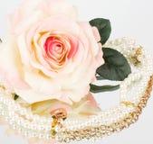 τρύγος λουλουδιών χαντρών Στοκ εικόνες με δικαίωμα ελεύθερης χρήσης