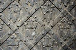 τρύγος μετάλλων πορτών ανα Στοκ φωτογραφία με δικαίωμα ελεύθερης χρήσης