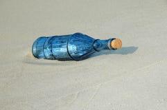 τρύγος μηνυμάτων μπουκαλιών Στοκ φωτογραφία με δικαίωμα ελεύθερης χρήσης