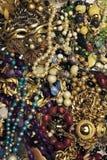 τρύγος ομάδας jewelries Στοκ Εικόνα