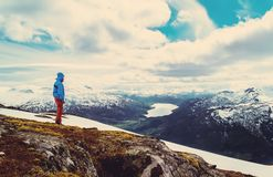 Τρύγος πεζοπορίας της Νορβηγίας στοκ φωτογραφία με δικαίωμα ελεύθερης χρήσης