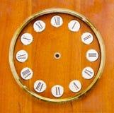 τρύγος πινάκων ρολογιών Στοκ εικόνες με δικαίωμα ελεύθερης χρήσης
