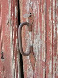 τρύγος πορτών λεπτομέρειας Στοκ Φωτογραφία