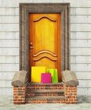 τρύγος πορτών Στοκ εικόνες με δικαίωμα ελεύθερης χρήσης