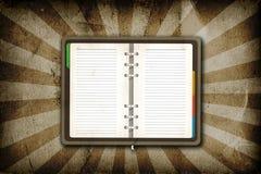 τρύγος σημειωματάριων Στοκ εικόνες με δικαίωμα ελεύθερης χρήσης