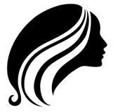 τρύγος σκιαγραφιών κοριτσιών Στοκ φωτογραφία με δικαίωμα ελεύθερης χρήσης